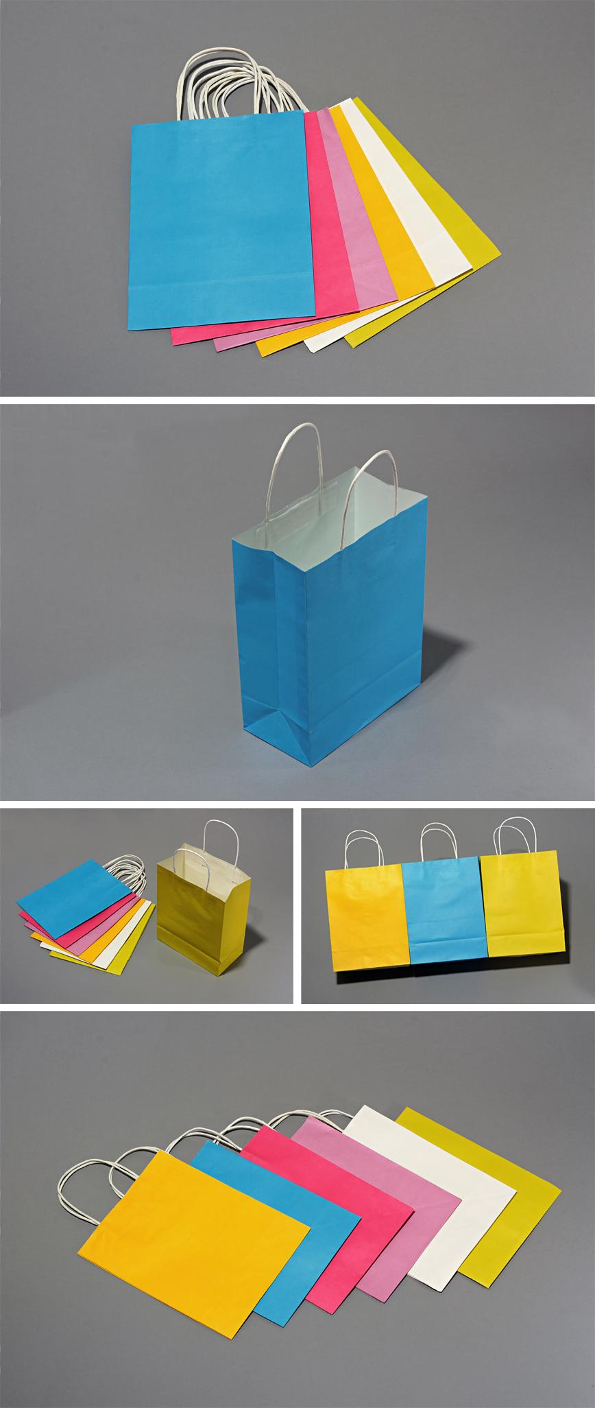 環保紙袋(手提袋)樣品展示,環保紙袋(手提袋)局部細節、顏色、款式展示。