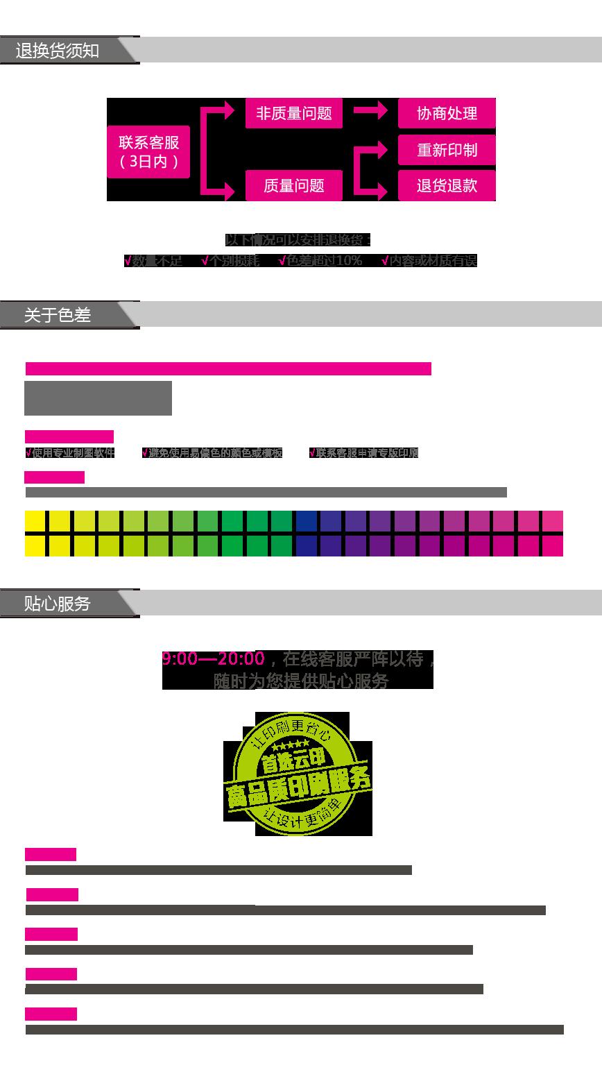 噴繪海報印刷、制作下單流程圖。ininin_service